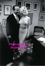 MARILYN MONROE 8X10 Lab Photo Infamous Nearly Nude JFK BIRTHDAY GOWN '62