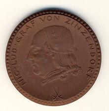 HERRNHUT - 200 Jahre GRAF ZINZENDORF 1722-1922 - PORZELLAN - SELTEN (721)