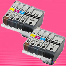 10 NON-OEM INK alternative for CANON PGI220 CLI221 PIXMA MP560 MP620 MP620B
