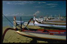 446000 Boats Sanur Beach Bali A4 Photo Print