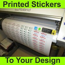Vinyl Stickers custom printed to your design, signs decals  labels  business use