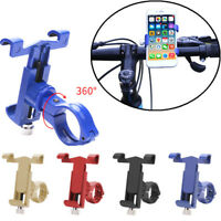 360° Rotate Bicycle Bike Phone Mount Bracket Holder Clip Handlebar Phone Holder
