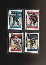 1999-00 Upper Deck MVP Silver Script Friesen Sykora Corbet Watt Lot of 4