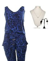 Queen of the South Brenda Justina Machado Production Worn Jumpsuit & Jewelry