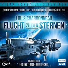 Flucht zu den Sternen - CD 5-teiliges Science-Fiction-Hörspiel MP3-CD Pidax Neu