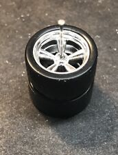 Hot Wheels Loose Rear Wheel Real Riders For VW Drag Bus Customs with Axle