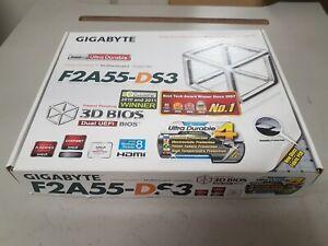 Gigabyte F2A55-DS3 motherboard. AMD socket FM2 2 DDR3 ATX