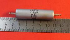 Capacitor AUDIO teflon K72P-6 1600V 4700pF USSR Lot of 1 pcs