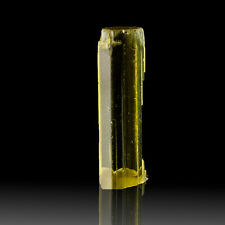 "1"" 13.8ct HELIODOR Terminated Sunbeam Yellow All Gem Crystal Tajikistan for sale"