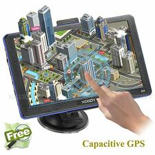 "Truck Car 7"" GPS SAT NAV Navigation System Navigator 8GB UK+EU+AU Free Map XGODY"