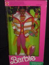 ♥♪ NRFB Mattel 1990 Rarität TOP United Colors of Benetton AA Christie Barbie RAR