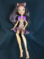 Welcome to Monster High CLAWDEEN WOLF Doll - Clothes Yellow Dress & Vest