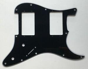 Stratocaster Wide Range HH Pickguard 11 hole US/MiM/MiJ/Blank, ++ colours