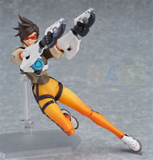 New Overwatch Tracer Figma 352 Action PVC Figure OW Model Toys With Box