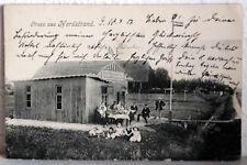 Cartolina di Campo 1917 - An Masch. Maat il S. M.S.Panther - Gruss North Beach