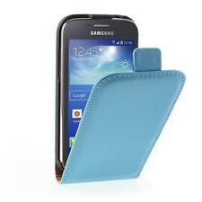 Flip Case Handy-Hülle zu Samsung Galaxy Ace 3 LTE / GT-S7275 blau