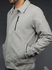 Nike Grigio Giacca coachstroyer Lana Cappotto Taglia XXL 2XL 426774-063 A75
