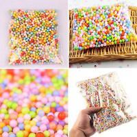 ALS_ 1 Pack Mini Filter Foam Beads Balls Art Crafts Supplies DIY Decor Beads Daz