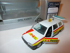 """Opel Kadett E Caravan GL """"ace"""" straßenwacht Road Service, gama en 1:43 AAA box!"""