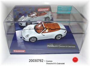 Carrera Digital 132 - Porsche 911 Carrera S Cabriolet Exclusive Model, 20030762
