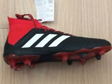 Brand new adidas predator 18.1 FG football boots sz 9.5 black/red