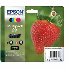 Genuine Epson T2986 Strawberry 29 Multipack 4 inks read discription