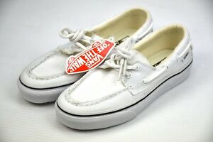 Vans Zapato Del Barco Unisex Sneaker Ture White VN-0XC3W00