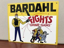 Bardahl Racing Oil Gas Vintage Reproduction Sign