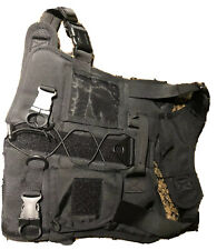 ICEFANG Large Dog Tactical Harness,Military K9 Working Dog Molle Vest,No Pulling