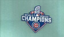 NEW 3 3/4 X 4 INCH CHICAGO CUBS 2016 WS CHAMPIONS IRON ON PATCH FREE SHIPPING