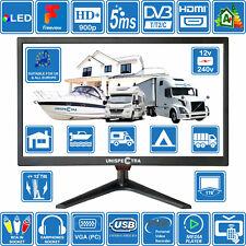 "19 "" Zoll 12V/240V HD+ LED Digital Freeview TV Wohnmobil Boot USB Pvr"