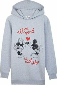 Disney Minnie Mouse and Mickey Mouse Hoodie Oversized Jumper for Women