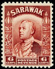 Sarawak Lago SG111a, 6 C-Marrón, NH Menta.