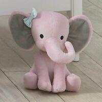 Stuffed Elephant Animal Plush Toy for Baby, Girls, Boys, Newborn - Gift Pink