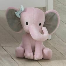 Stuffed Elephant Animal Plush Toy for Baby, Girls, Boys, Newborn - Gift Pink