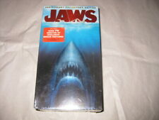 JAWS Roy Scheider Richard Dreyfuss 2 TAPE VHS SET 25h ANNIVERSARY Set Sealed NEW