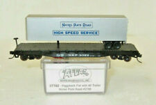 Atlas N Scale New York, Chicago & St Louis 50' Piggyback Flatcar with Trailer