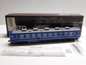 HO Scale - KATO 1-502 Japanese JNR Blue Passenger Car Train RARE