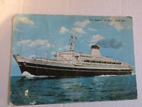 Tarjeta Postal Época Temática Barcos - Leonardo De Vinci Shipped 1968