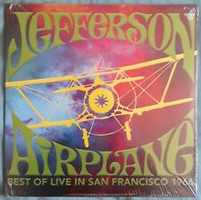 JEFFERSON  AIRPLANE - best of live - 33T  LP  DISQUE - VINYLE  - NEUF