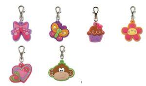 Cute Party Bag Toys Gifts 9 Girls Kids Childrens Fun Zip Pulls Zipper Tags