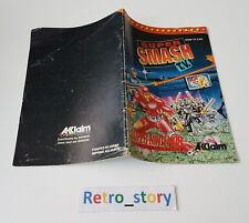 Super Nintendo SNES Super Smash TV Notice / Instruction Manual