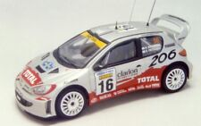 Heller kit 1:43 Peugeot 206 Wrc Rally Sweden 2001