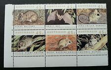 Australia Threatened Animals 1992 Bat Rat Mouse (stamp with corner margin) MNH