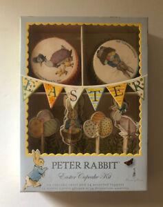 MERI MERI BEATRIX POTTER PETER RABBIT EASTER CUPCAKE KIT 24 PC-NEW