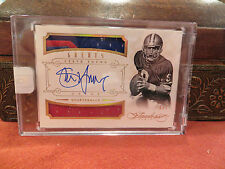Panini Flawless On Card Autograph Jersey Greats 49er's Auto Steve Young 6/7 2014