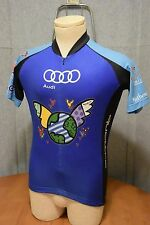 VOmax Audi Carl Lewis Challenge Best Buddies Cycling Jersey Size Small   NR
