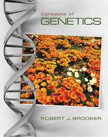 Concepts Of Genetics  - by Brooker