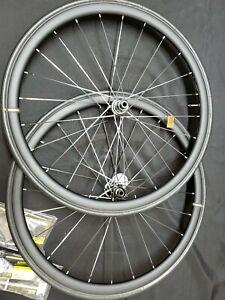 Mavic cosmic elite UST DCL disc road racing bike bicycle wheelset 700C new