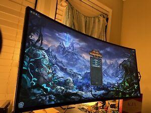 "LG 34GK950F-B 34"" 21:9 Ultragear WQHD Nano IPS Curved Gaming Monitor (FREESYNC)"